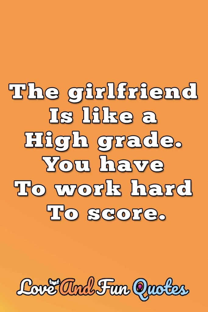 girlfriend funny love quotes