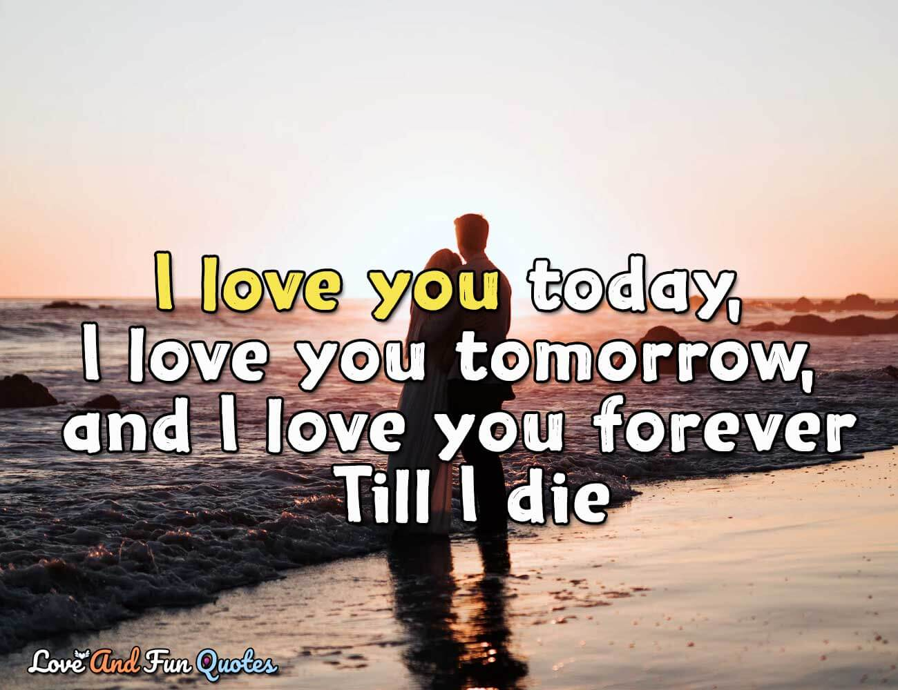 i love you quotes and sayings