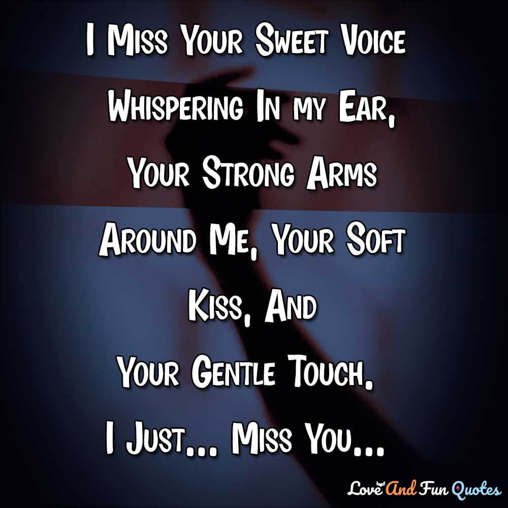 quotes saying i love you and miss you