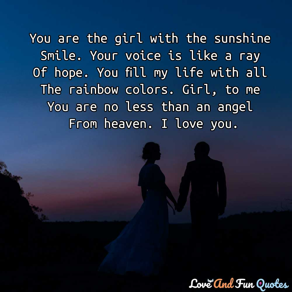 deep romantic love messages for her