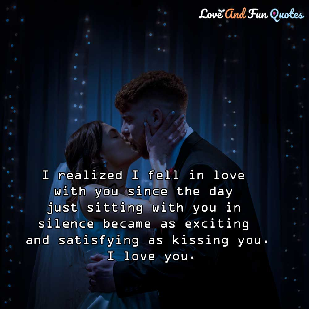 i fall in love with you i love you quotes