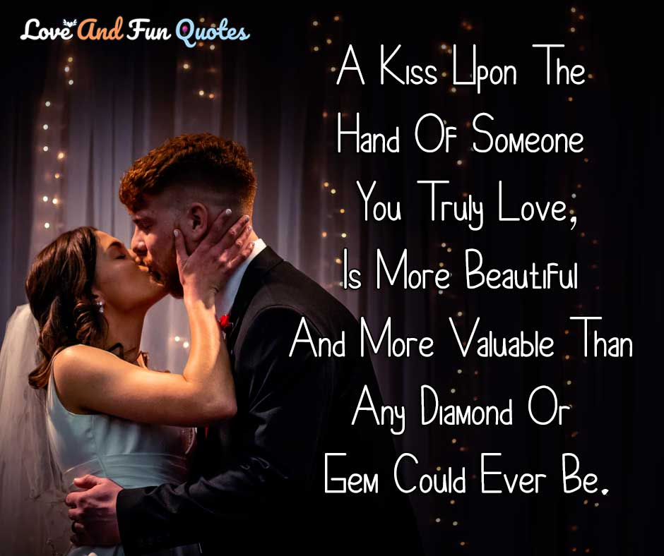 first kiss love quotes