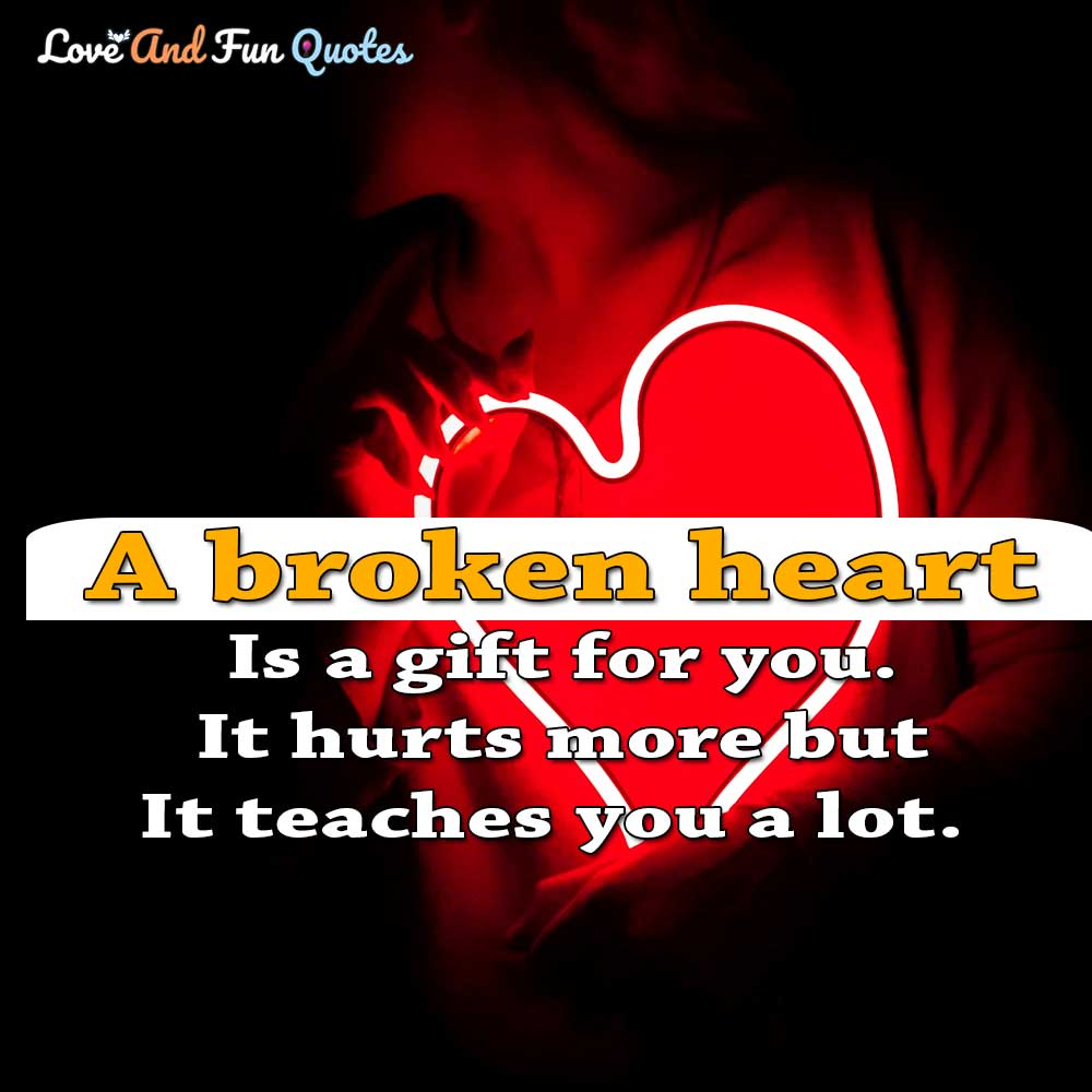 broken heart love quotes and sayings