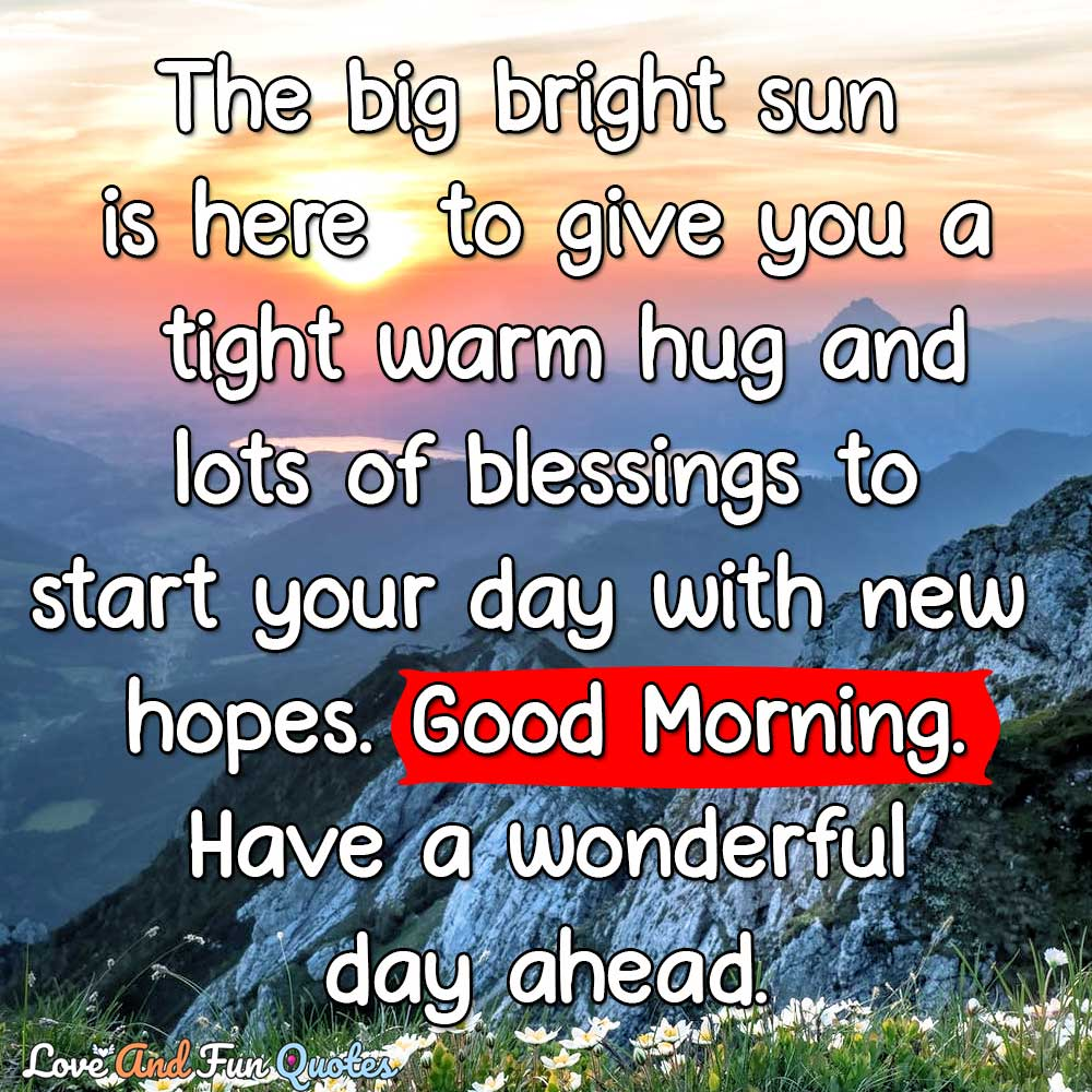 good morning love quotes and sayings