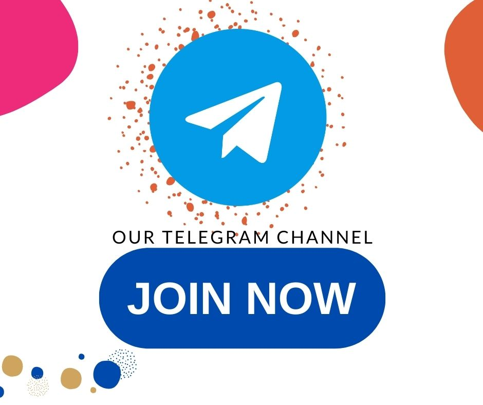 Join out telegram channel